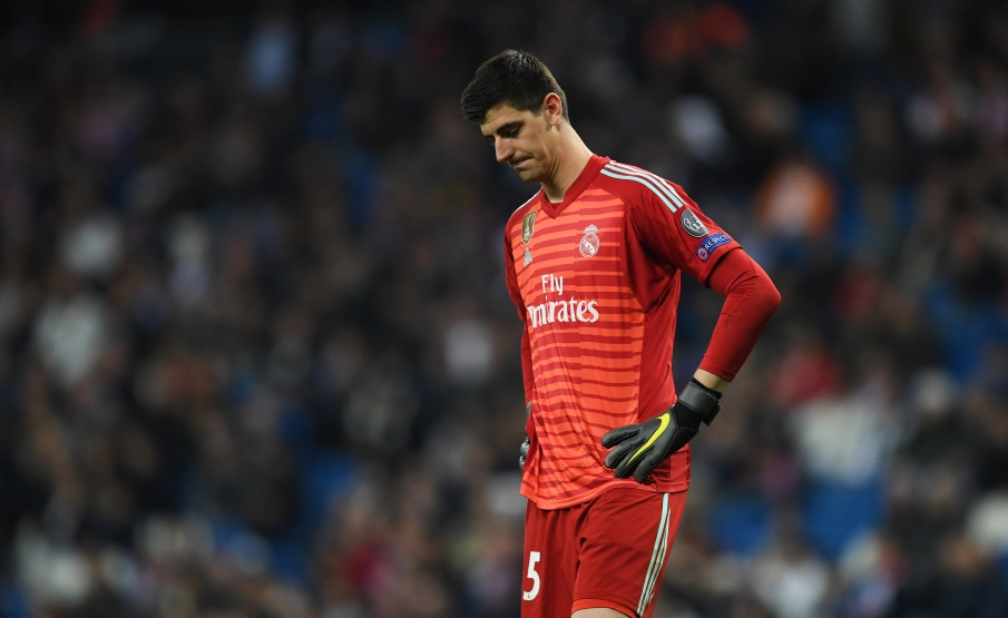 Courtois vem sendo criticado pela torcida merengue(2019 Getty Images, Getty Images Europe)