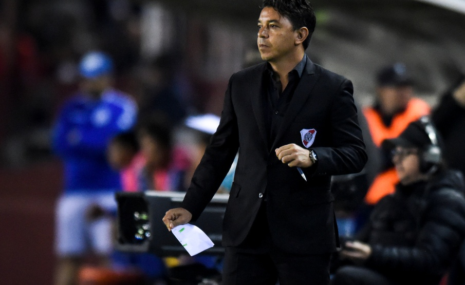 Marcelo Gallardo pode assumir cargo do Barcelona(2019 Getty Images, Getty Images South America)