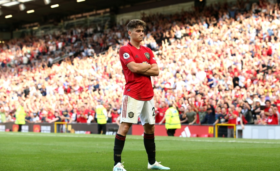 Daniel James vem sendo importante no United(2019 Getty Images, Getty Images Europe)