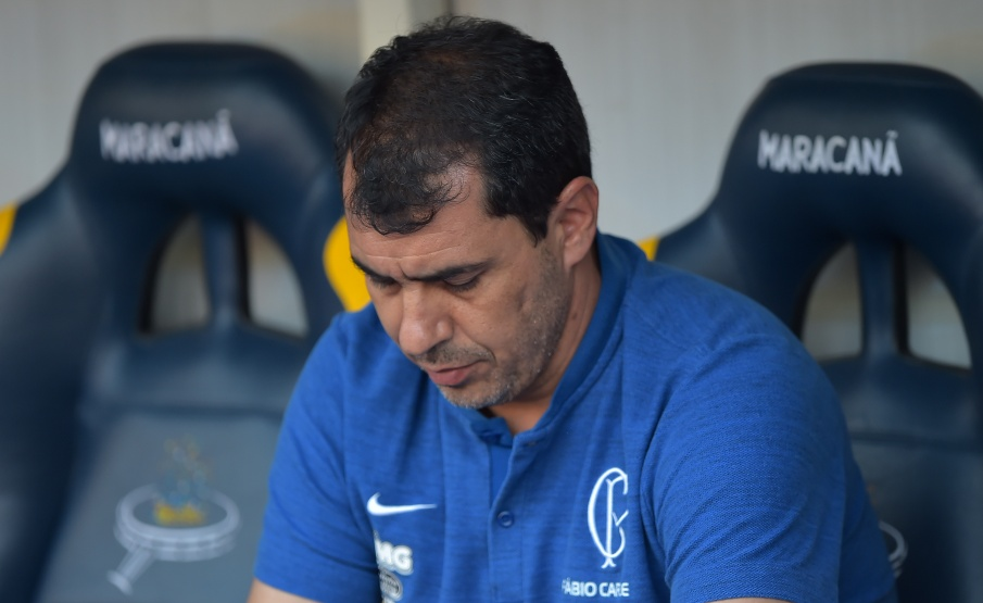 Carille não resistiu aos oito jogos sem vitórias no comando do Corinthians(Thiago Ribeiro / AGIF)