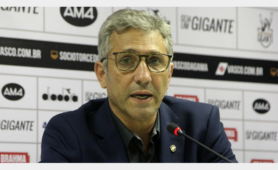 Alexandre Campello, presidente do Vasco(Paulo Fernandes/Vasco)