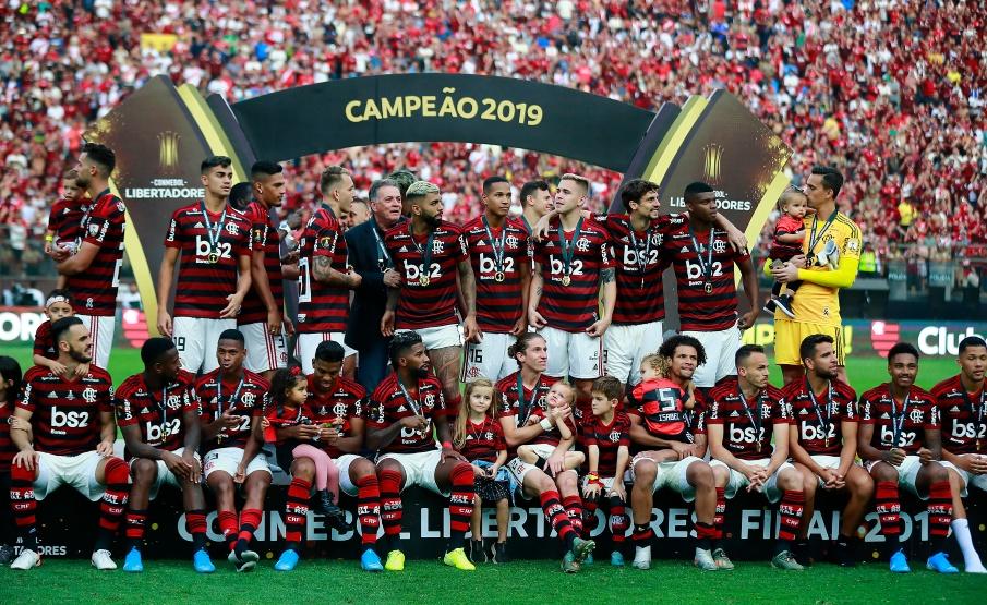 Flamengo se sagrou campeão da Libertadores após virada emocionante sobre o River(Daniel Apuy / 2019 Getty Images)