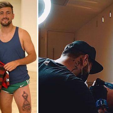 Gabigol Arrascaeta E Rodinei Fazem Tatuagem Do Troféu Da