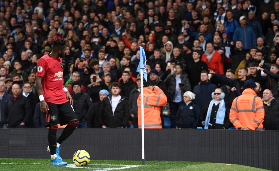 Manchester City x Manchester United teve caso de racismo contra Fred(Getty Images)