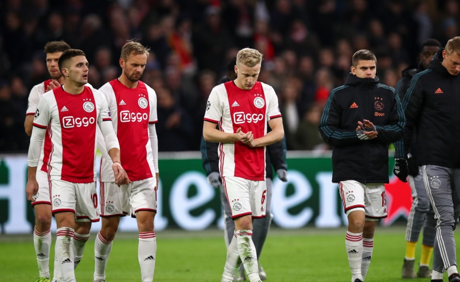 Ajax deu adeus à Champions(Getty Images)
