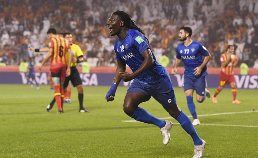 Gomis foi o autor do gol do Al-Hilal contra o Espérance(FIFA via Getty Images)