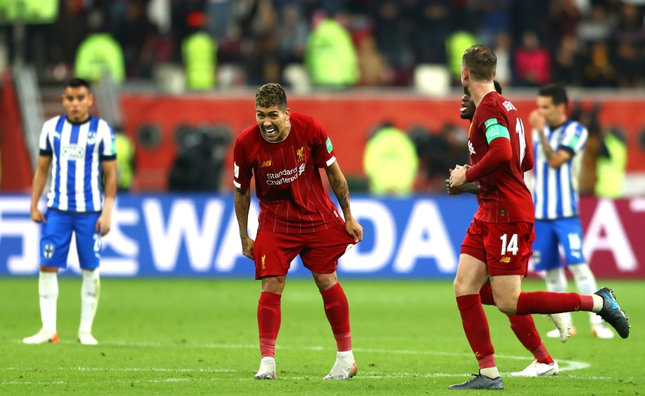 Firmino foi o autor do gol da classificação(Getty Images)