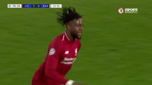 Virada do Liverpool contra o Barcelona