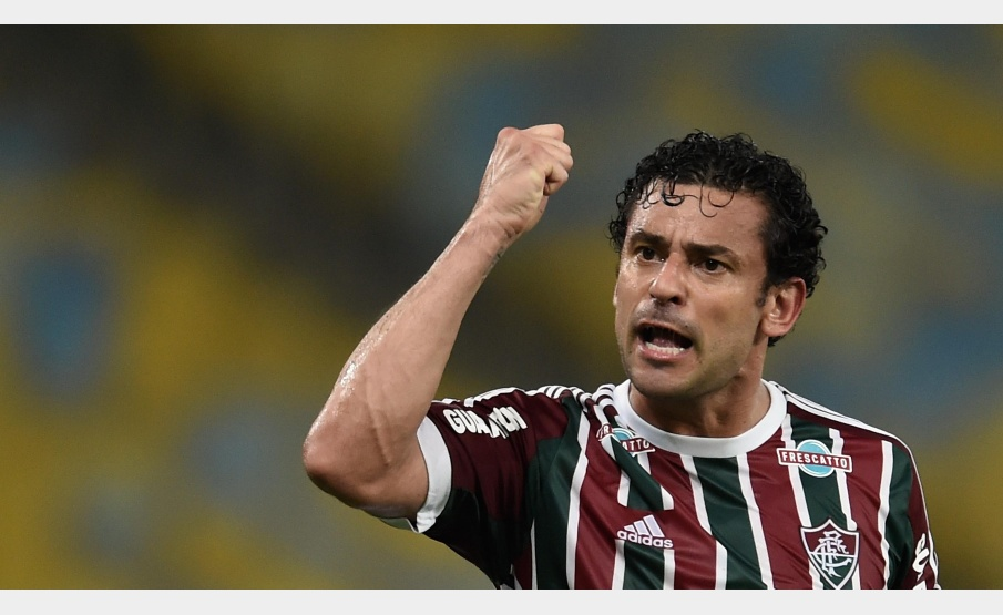 Fred defendeu as cores do Fluminense entre 2009 e 2015(Via Getty Images)