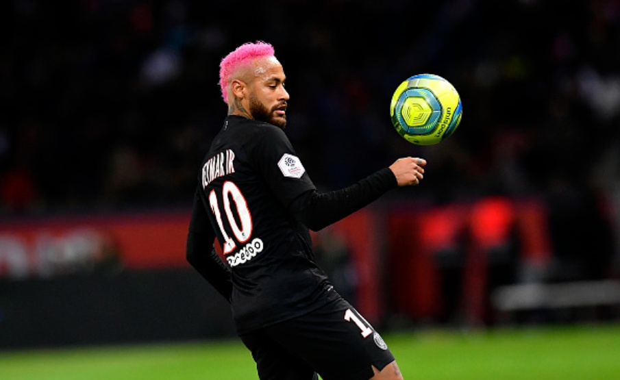 "A ""LAMBRETA PROIBIDA"" DE NEYMAR(PSG via Getty Images)"
