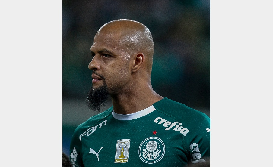 Felipe Melo reclamou da arbitragem contra a Ponte(2019 Getty Images, Getty Images South America)
