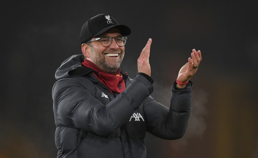 Klopp respondeu a pequeno torcedor do Manchester United(Getty Images)
