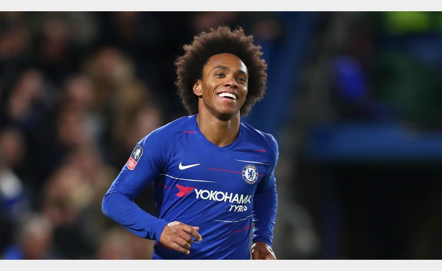 No Chelsea desde a temporada 2013/2014, Willian conquistou a Premier League duas vezes com os Blues(Clive Rose/Getty Images Europe)