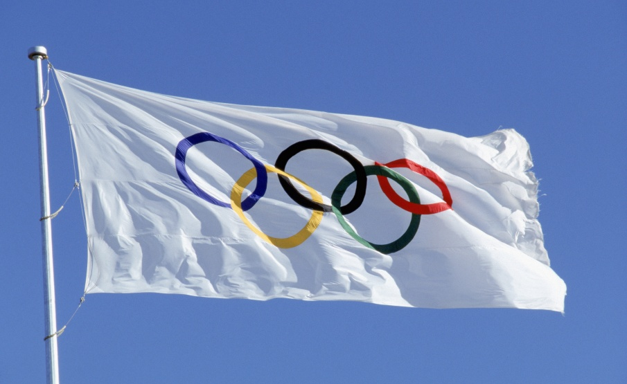 Official Olympic Flag(1988 Getty Images, Getty Images North America)