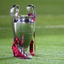 ROME - MAY 27:  The Champions League trophy sits on the grass after the UEFA Champions League Final match between Manchester United and Barcelona at the Stadio Olimpico on May 27, 2009 in Rome, Italy. Barcelona won 2-0. (Photo by Laurence Griffiths/Getty Images)