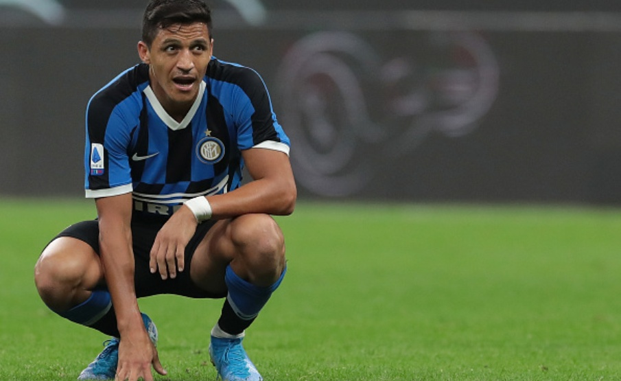 Roma quer Alexis Sánchez(2019 Getty Images)