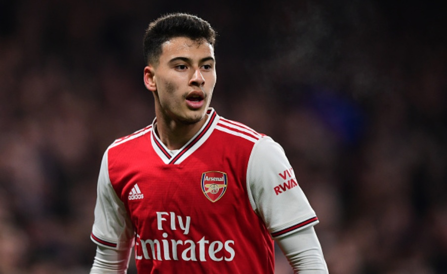 Martinelli tem sido destaque do Arsenal(Getty Images)