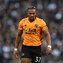 LONDON, ENGLAND - MARCH 01: Adama Traore of Wolverhampton Wanderers looks on during the Premier League match between Tottenham Hotspur and Wolverhampton Wanderers at Tottenham Hotspur Stadium on March 01, 2020 in London, United Kingdom. (Photo by Harriet Lander/Copa/Getty Images)