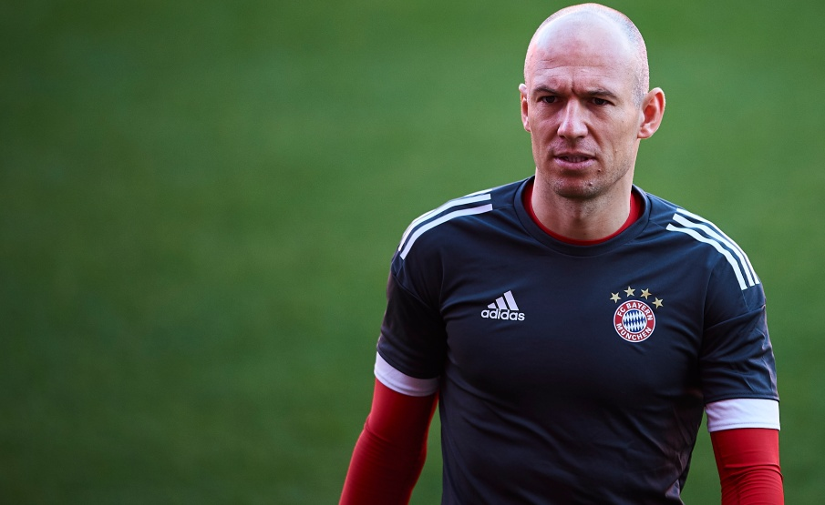 Robben revelou que esposa teve COVID-19(Getty Images)