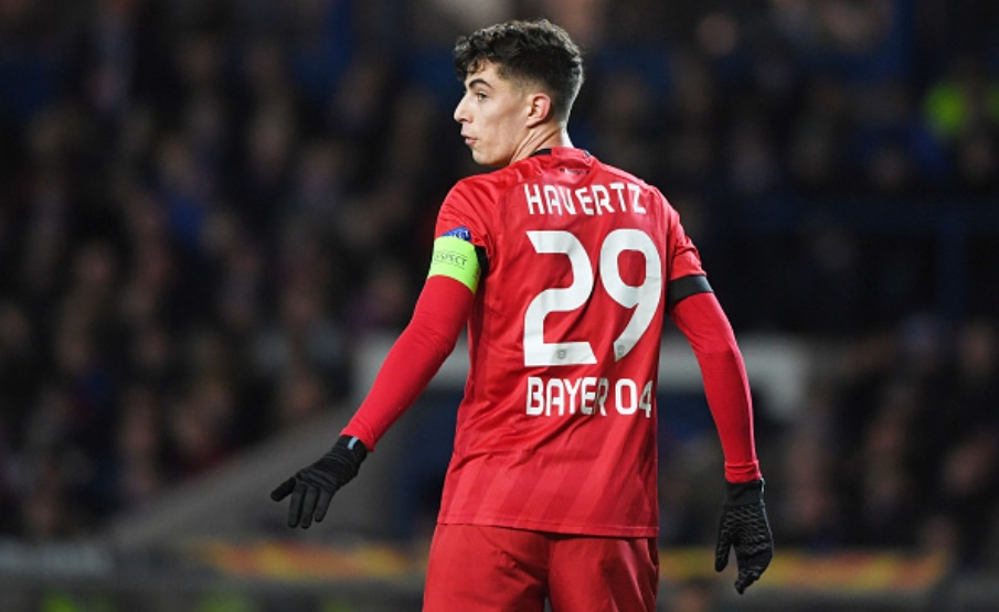 Kai Havertz é o principal nome do Bayer Leverkusen(Getty Images)