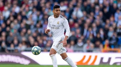 Casemiro é titular do Real Madrid desde 2016