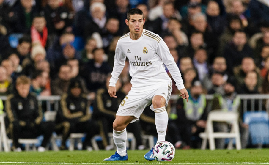 James Rodríguez pode deixar o Real Madrid rumo ao Everton(Getty Images)
