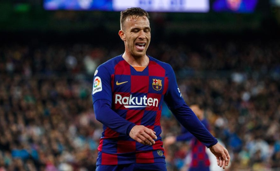 "Arthur: ""A única intenção é seguir no Barcelona""(Getty Images)"