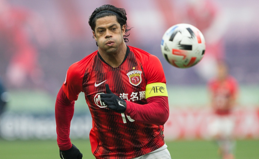 Hulk está no Shanghai SIPG desde 2016(Yifan Ding / Getty Images)