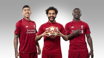 Trio é o grande destaque do Liverpool