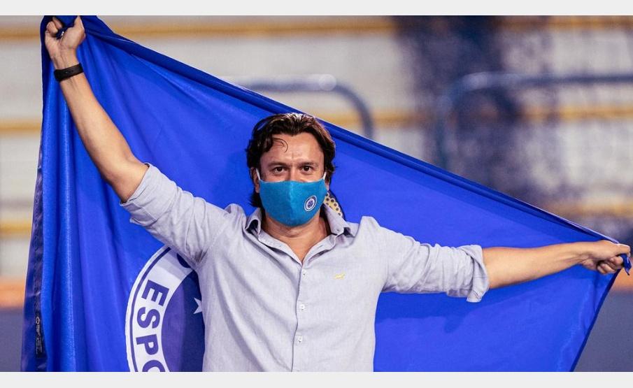 Sérgio Rodrigues, novo presidente do Cruzeiro(Gustavo Aleixo/Cruzeiro)