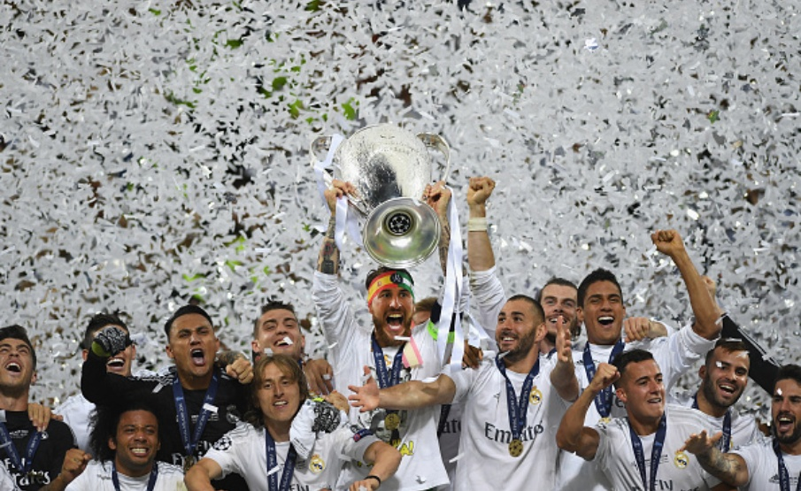 Real Madrid manteve liderança como clube mais valioso da Europa(2016 Getty Images)