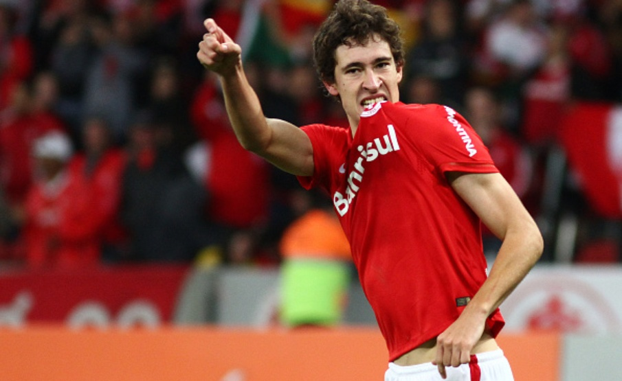 Rodrigo Dourado é ídolo da torcida do Internacional(Getty Images)