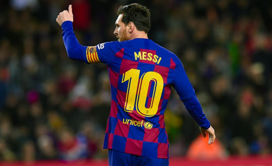 Lionel Messi é torcedor fanático do Newell's Old Boys(Getty Images)