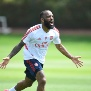 ST ALBANS, ENGLAND - MAY 26: Alex Lacazette of Arsenal during a training session at London Colney on May 26, 2020 in St Albans, England. (Photo by Stuart MacFarlane/Arsenal FC via Getty Images)