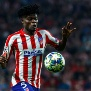 MADRID, SPAIN - SEPTEMBER 18: Thomas Partey of Atletico de Madrid controls the ball  during the UEFA Champions League group D match between Atletico Madrid and Juventus at Wanda Metropolitano on September 18, 2019 in Madrid, Spain. (Photo by TF-Images/Getty Images)
