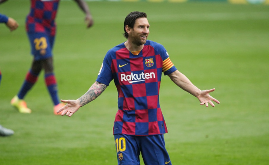 Messi começou a carreira nas categorias de base do Newell's Old Boys(Getty Images)