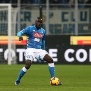 STADIO GIUSEPPE MEAZZA, MILANO, ITALY - 2018/12/26: Kalidou Koulibaly of Ssc Napoli in action   during the Serie A football match between FC Internazionale and Ssc Napoli. Fc Internazionale wins 1-0 over Ssc Napoli. (Photo by Marco Canoniero/LightRocket via Getty Images)