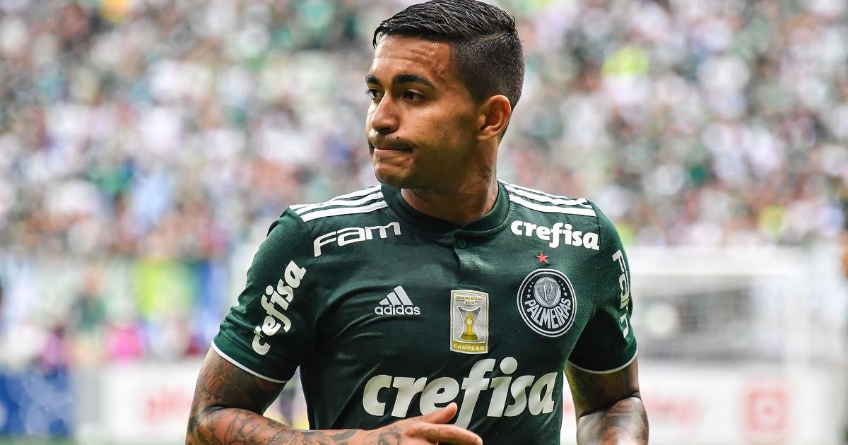 Dudu do Palmeiras está mergulhado em polêmicas.   JOÃO BIOTT