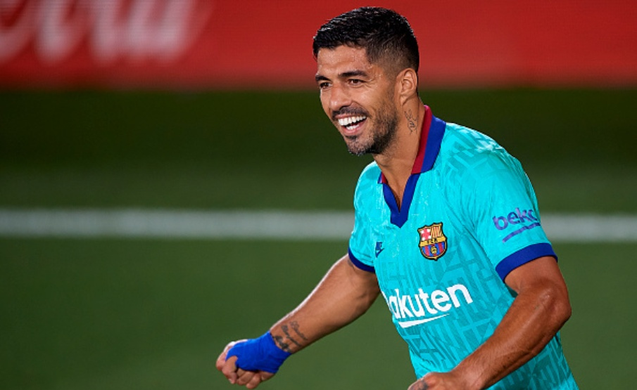 Luisito Suárez chegou a 194 gols pelo Barcelona(Pablo Morano/MB Media via Getty Images)