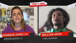 Willian Arão sobre favoritismo do Flamengo sobre o Fluminense