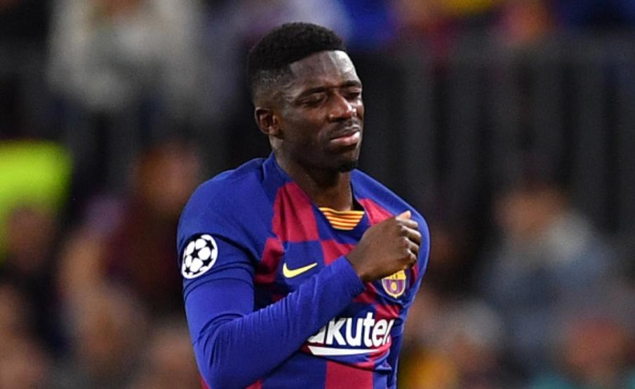 Ousmane Dembélé já reiterou que não quer deixar o Barcelona nesta temporada(Getty Images)
