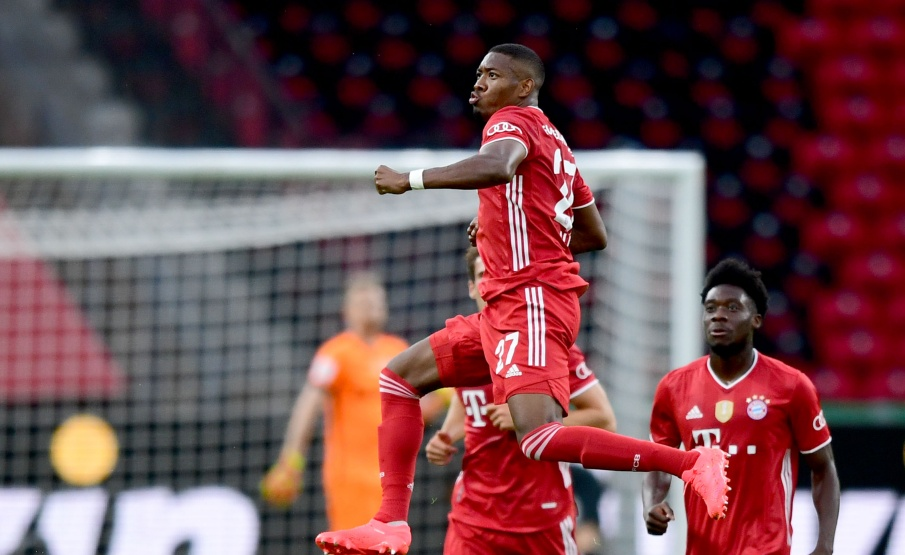 Alaba pode deixar o Bayern de Munique ao final desta temporada(Getty Images)