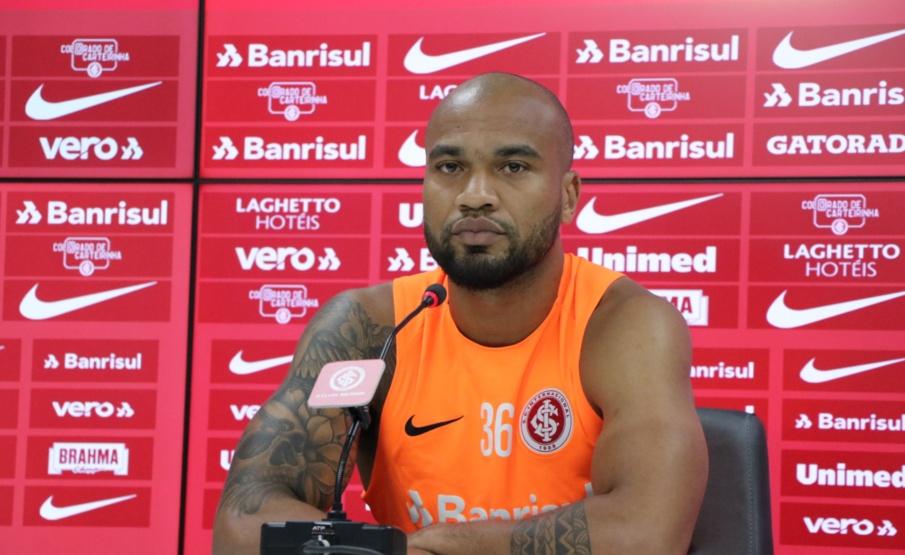 Rodrigo Moledo está em sua segunda passagem pelo Internacional(Ricardo Duarte/Internacional)