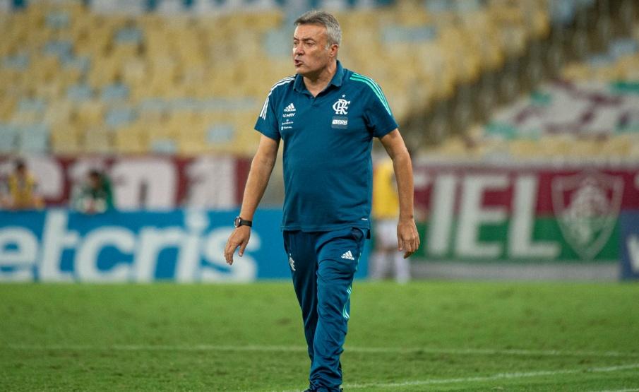 Domènec falou sobre o time ideal que tem em mente I Foto: Alexandre Vidal / Flamengo