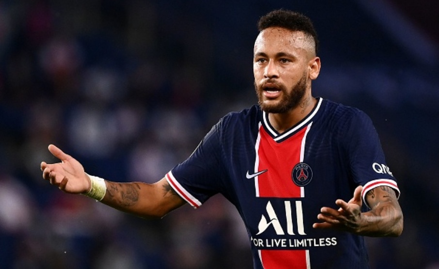 Neymar denunciou ter sofrido racismo na Ligue 1(AFP via Getty Images)
