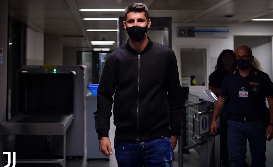 Morata chega para reforçar a Juventus(Divulgação/Juventus)