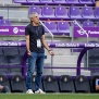 VALLADOLID, SPAIN - JULY 11: coach Quique Setien of FC Barcelona during the La Liga Santander  match between Real Valladolid v FC Barcelona at the Estadio Municipal Jos? Zorrilla on July 11, 2020 in Valladolid Spain (Photo by David S. Bustamante/Soccrates/Getty Images)