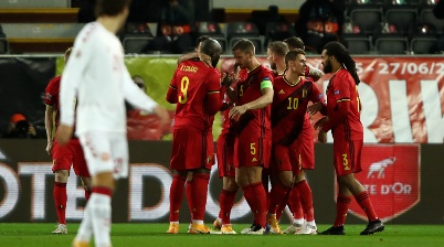 Belgium v Denmark - UEFA Nations League