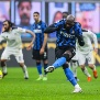 MILAN, ITALY - 2020/12/20: Romelu Lukaku of FC Internazionale, scores a penalty during the Serie A 2020/21 match between FC Internazionale vs Spezia Calcio at San Siro Stadium.(Final score; FC Internazionale 2: 1 Spezia Calcio). (Photo by Fabrizio Carabelli/SOPA Images/LightRocket via Getty Images)