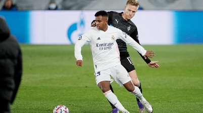 Rodrygo atua no Real Madrid
